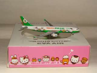 Herpa Wings 500 Eva Air A330 200 Hello Kitty free Shipping