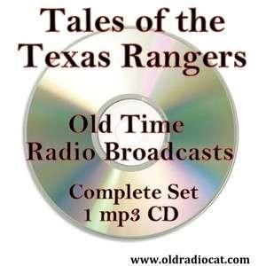 RANGERS Complete Set Old Time Radio OTR 1  CD Police Drama