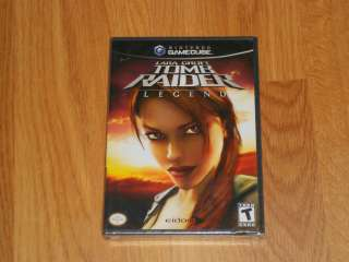Lara Croft Tomb Raider Legend (Nintendo GameCube, 2006) BRAND NEW Wii
