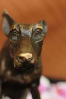 GREYHOUNDS RACING DOG BRONZE MARBLE SCULPTURE STATUE ANIMAL FIGURE