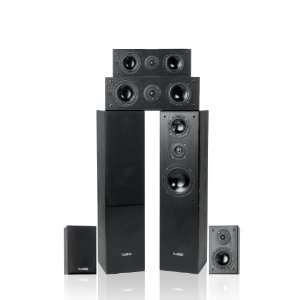 Fluance AV Series 6.0+ Surround Sound Home Theater Speaker
