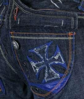 Laguna Beach Jeans Co Mens BALBOA BEACH Blue Straight