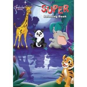 iScholar Super Coloring Book, 11 x 8.25 Inches, 96 Pages