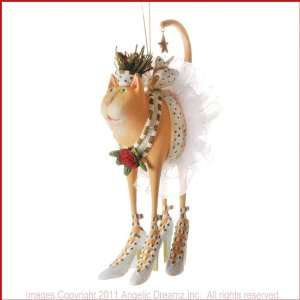 2011 Patience Brewster Krinkles, BUFFY CAT ORNAMENT ( Item. November