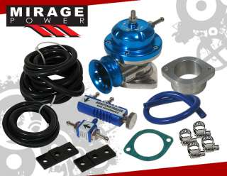 UNIVERSAL TURBO RS TYPE BLUE BLOW OFF VALVE BOV+BOOST |