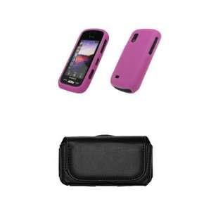 Samsung Solstice A887 Premium Hot Pink Silicone Gel Skin
