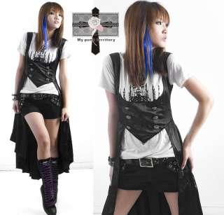 Visual Kei Royal Victorian EGL Vampire Txuedo Satin Gothic Emo Duke