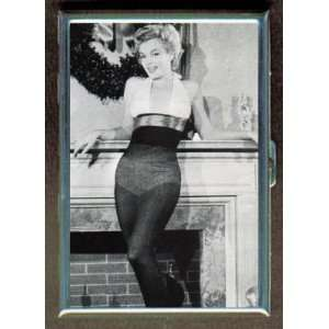 KL MARILYN MONROE SEXY CHRISTMAS ID CREDIT CARD WALLET CIGARETTE CASE