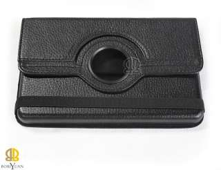 kindle Fire Leather case cover with 360° degree rotation stand
