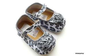 Baby Girl Leopard Print Mary Jane Ballet Shoes 0 6M 6 12M 3 Size