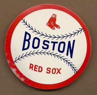 RARE OLD 1940s BASEBALL DECAL BOSTON RED SOX Discounted items