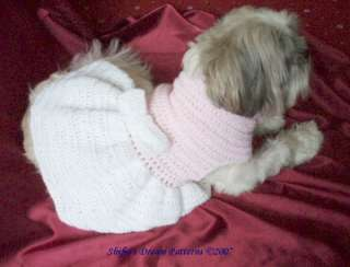 Free Crochet Patterns Dog Clothes : Dog Clothes Accessories Pattern Japanese Craft Book
