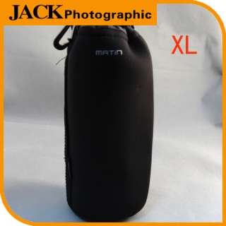 Water resistant Neoprene Soft Camera Lens Pouch bag backpack Case