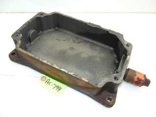Allis Chalmers 410S Kohler K241 10hp Engine Oil Pan