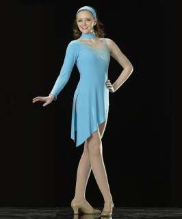 STAGELIGHTS Ice Skating BLUE Dress Dance Costume AdultS