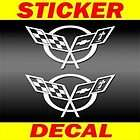 CORVETTE 2 Decals / Stickers vinyl C4