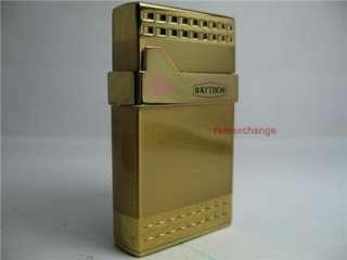 RAYTHOR Cigarette Windproof Lighter NIB Gold LFm5