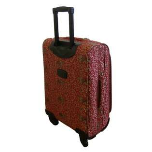 American Flyer Budapest 5 Piece Spinner Luggage Set   Color Metallic