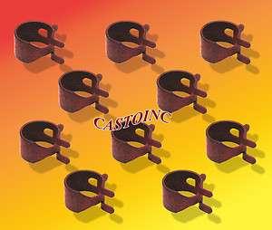 791850, 93053 & 95162S Fuel Line Clamps 1/2 Hose, 1/4 Fuel Line