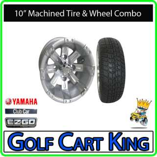 RHOX Vegas Low Profile Golf Cart 10 Wheel & Tire Combo