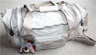Tag Kipling Anatomy 24 Medium Duffle Bag Gym Bag Khaki Earth