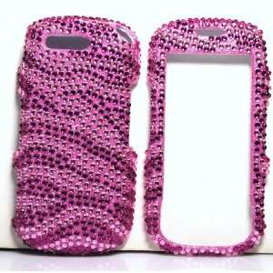 Pink with Hot Pink Zebra Animal Stripe Samsung T749 Highlight