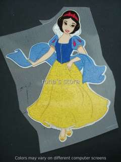 Disney Princess SNOW WHITE Iron On Patch Heat Transfer