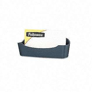 Fellowes Business Card/Paper Clip Holder, 4 1/8 x 1 3/4