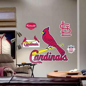 Fathead St. Louis Cardinals Logo Wall Graphic