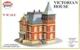 MPR1526 Victorian House Building Kit N Scale Model Powe
