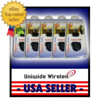 UNIVERSAL MAGNETIC HOLDER CELL PHONE or GPS (LOT OF 5)