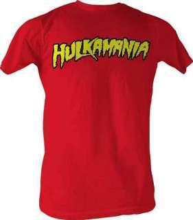 HULK HOGAN HULKAMANIA ADULT TEE SHIRT S M L XL XXL