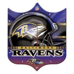 Ravens Wall Clock   High Definition