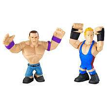 WWE Rumblers Action Figures 2 Pack   John Cena and Jack Swagger