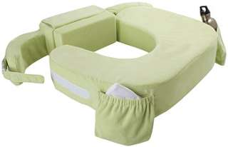My Brest Friend Twins Plus Deluxe Green Nursing Pillow   Zenoff