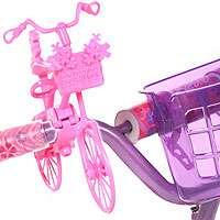 Dynacraft 12 inch Ride with Me Barbie BMX Bike   Girls   Purple Basket