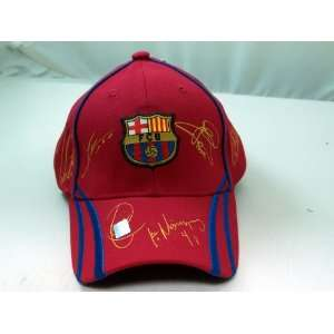FC BARCELONA OFFICIAL TEAM LOGO CAP / HAT   FCB011 Sports