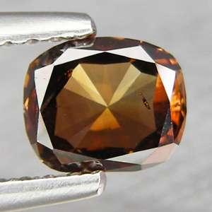 81cts Cushion Fancy Reddish Cognac Natural Loose Diamond
