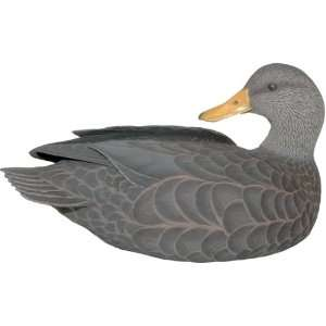 Black Duck Decoy Sculpture