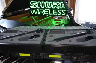 Shure U24D UHF Wireless Microphone System J4 USA Legal U4D U2 Beta58A