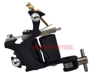 Soft Silicone Steel BLACK Liner USA GUN Tattoo Machine