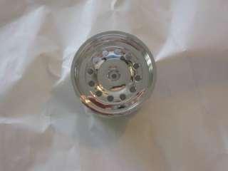 Imex 2.8 Pluto Chrome Silver Wheels (2 Front) #7033