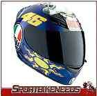 Donkey Valentino Rossi Helmet Large L LG Motorcycle Street Full Face