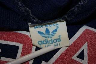 vtg 80s 1984 ADIDAS USA raglan sweat shirt * trefoil olympic