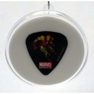 Marvel Iron Man Guitar Pick With MADE IN USA Christmas Tree Ornament