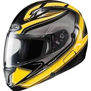 HJC Zader Mens CL MAX II Bluetooth Full Face Motorcycle Helmet   MC 3