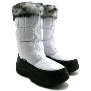 NEW WINTER SNOW SKI YETI FUR MOON JOGGER LADIES FLAT BOOTS SIZE 3 9