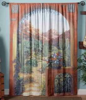 Batik Art Door Curtain Wall Hanging Panel Drape 33x54