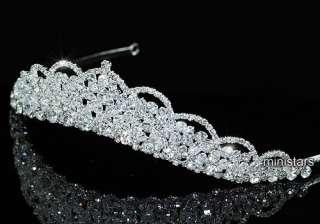 Bridal Wedding Sparkling Tiara use Swarovski Crystal AT1468