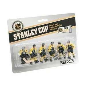 Stiga Boston Bruins Table Rod Hockey Players   Boston